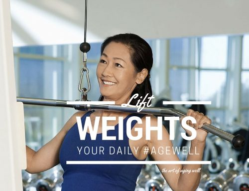 Art of Aging + Lifting Weights