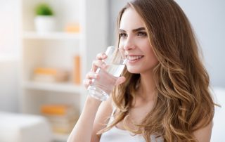 Drinking Water is good for your health.